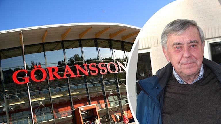 Henning Eneström, ordförande för ordförande i stiftelsen Albert och Anna Göransson minne.