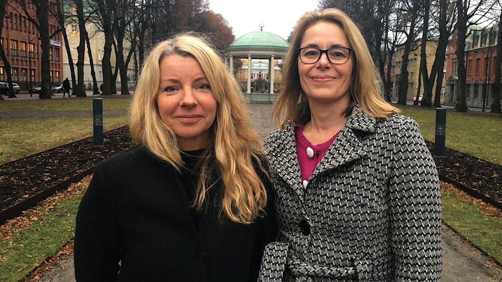 Kerstin Carlsson och Karin Forsgren Anderung