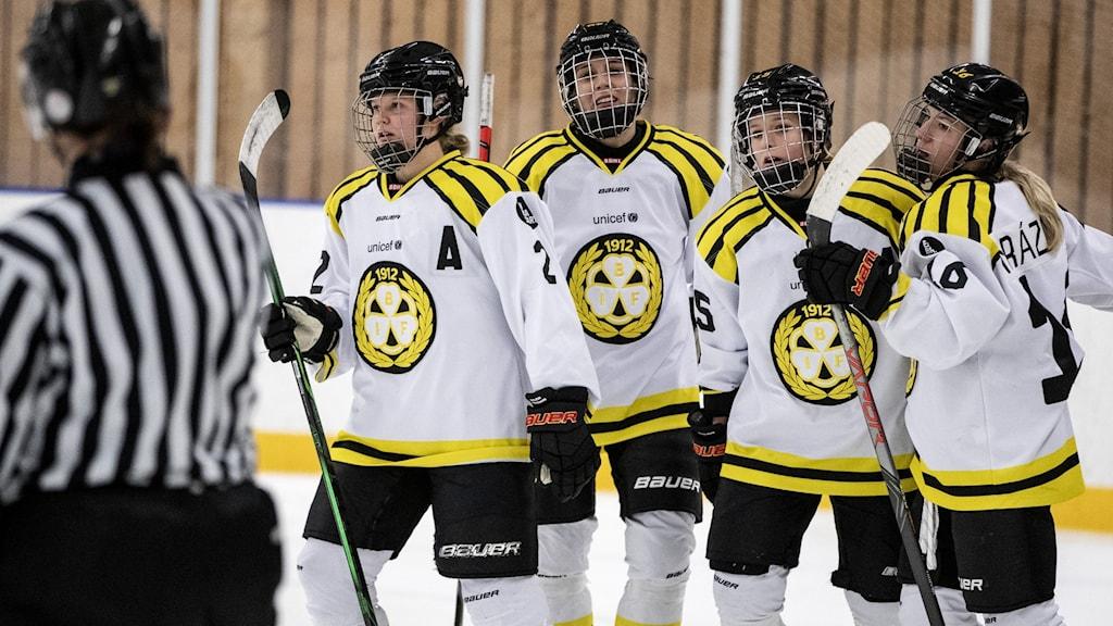 hockey, damer, SDHL