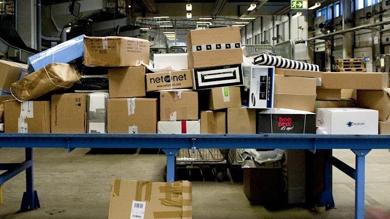 Postorderföretag har haft stora problem i Hofors.