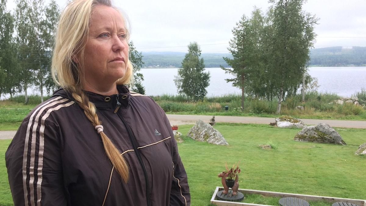 Katarina Berglunds mamma var smutsig och uttorkad när hon fördes till sjukhuset.