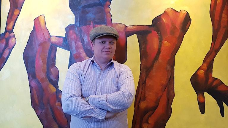 Jon Bylund, projektledare på Tension.