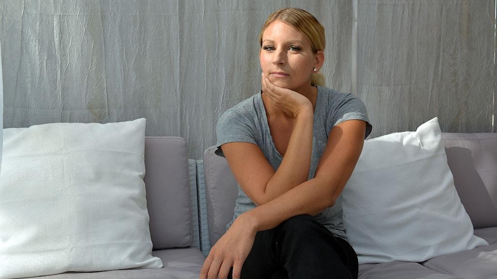 Utmattningssyndrom har drabbat Iza Ullmark i Gävle