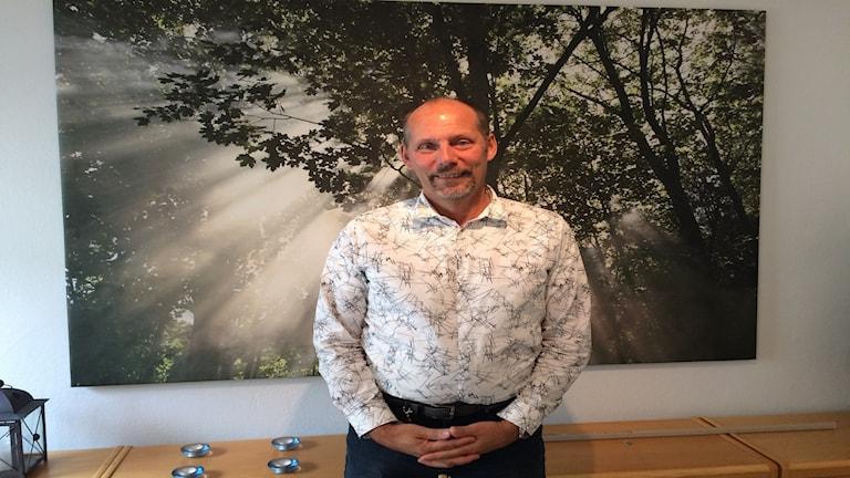 Anders Hansson är chef för Sverigs Byggindustrier i Gävleborg.