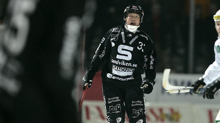 Patrik Södergren under en match med Saik 2005