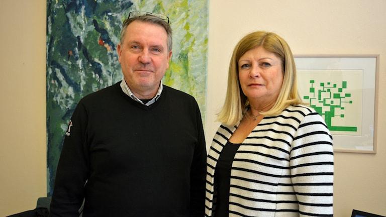 Parkeringsavgifter Gavlefastigheter VD Per-Arne Vahlund och bolagsstyrelsens ordförande, Maud Lundh