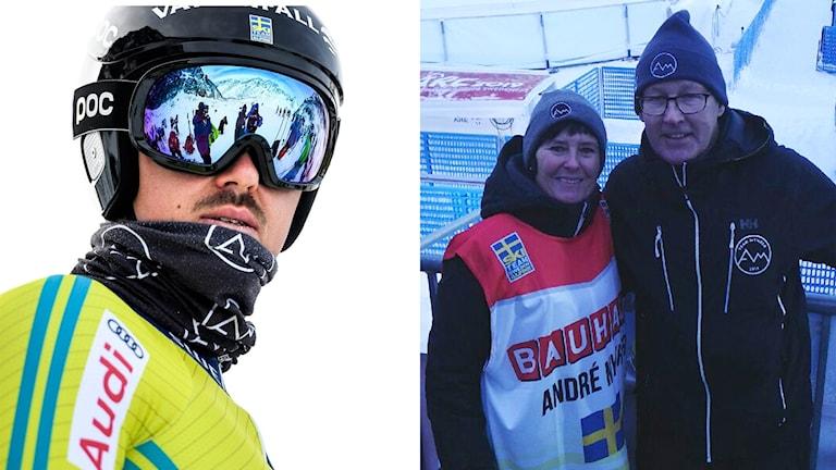 André Myhrer, Christina och Thorbjörn Myhrer