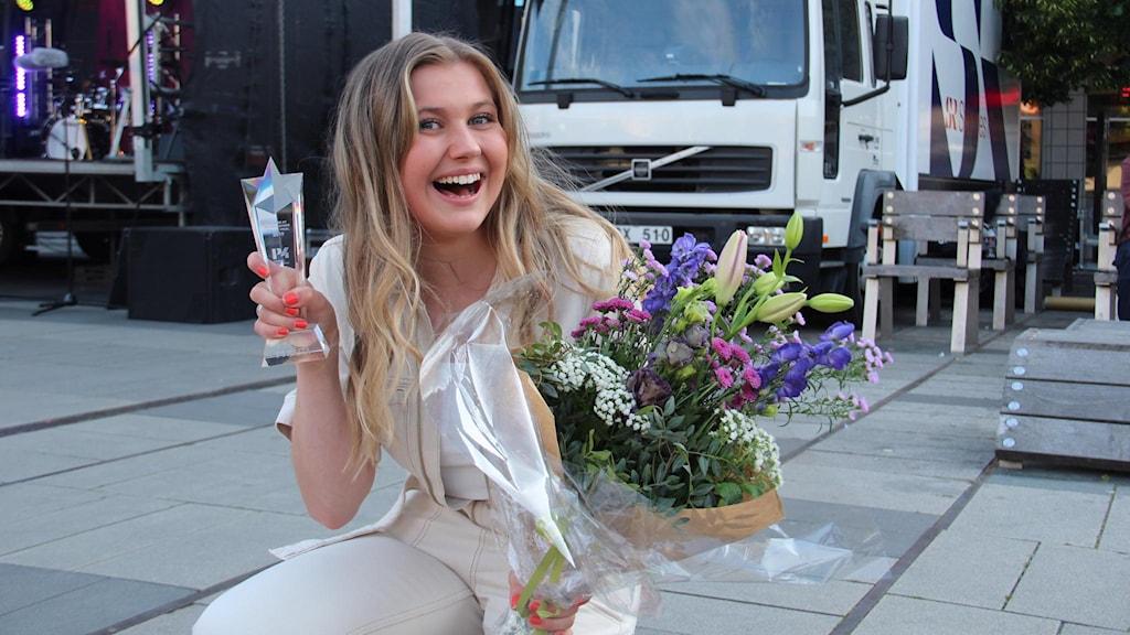 Linn Wikblad vinnare i P4 Nästa