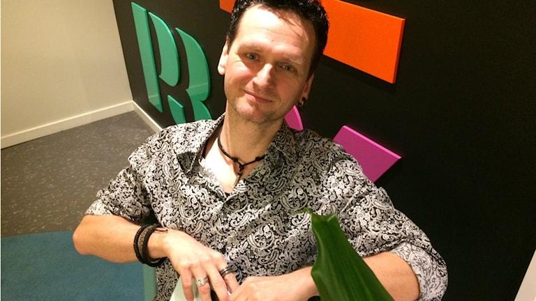 """Per Samuelsson har skrivit boken """"Krydda med Musik""""."""