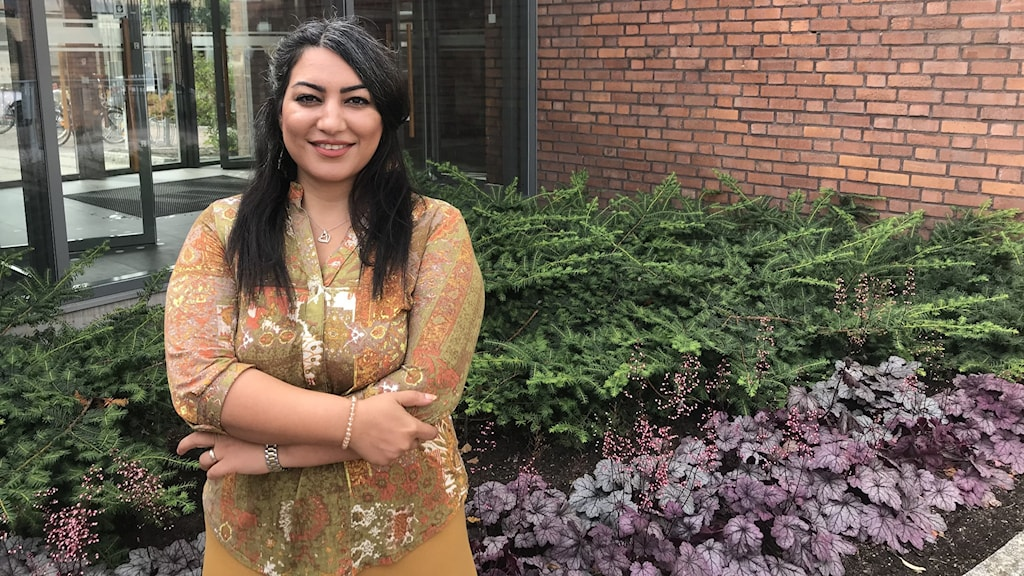 Sandvikens fristadsförfattare Mahdieh Golroo