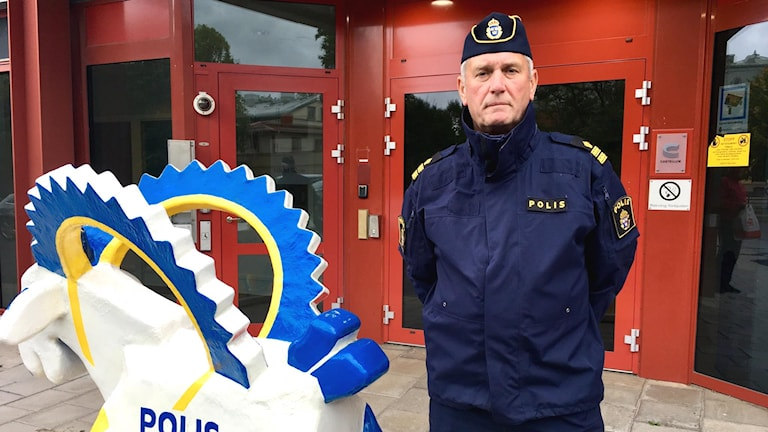 Mikael Hedström polisens presstalesperson