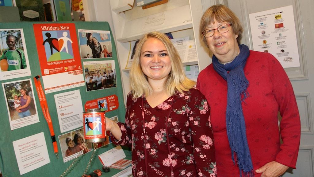 Elisabeth Back och Iréne Eriksson har samlat in tusentals kronor till barn i Afrika.