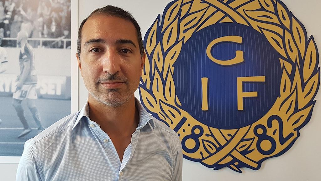 David Norell-Hussein, klubbdirektör Gefle IF