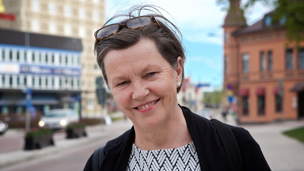 Oppositionsrådet i Hudiksvalls kommun Caroline Schmidt (C)