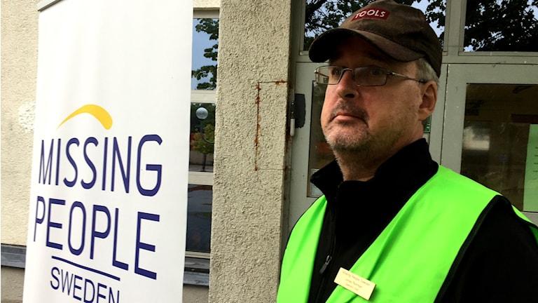 Jonas Norman är operativ chef på Missing People