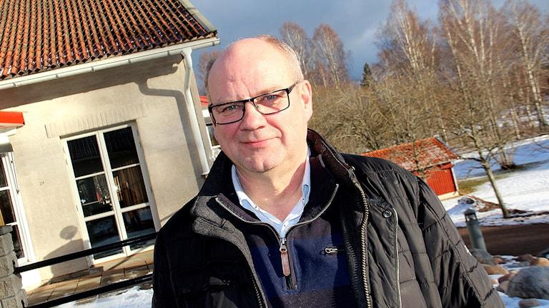 Arne Anderstedt, profil inom bandyn och vd för Högbo Bruk.