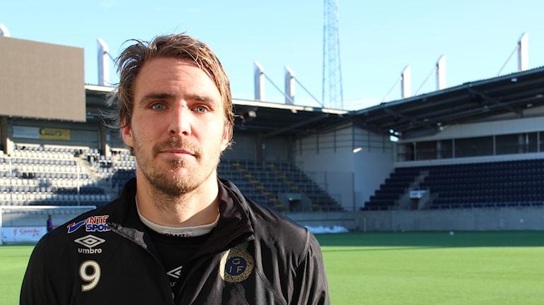Johan Oremo är laddad inför kvällens match.