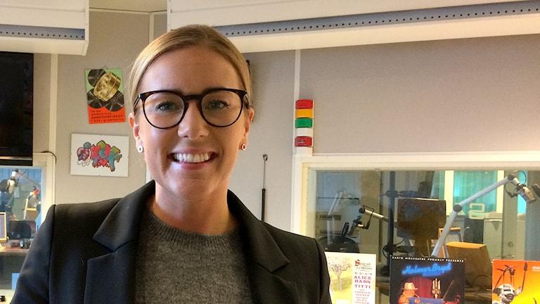 Malin Johansson är personalansvarig på Cibes Lift group AB.
