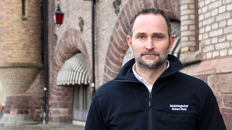 Robert Strid, räddningschef i Gävle.