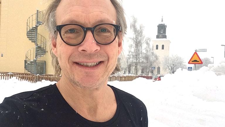 Larry Forsberg sänder från Torsåker i dag.