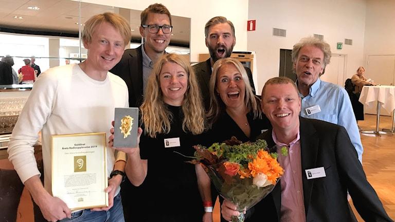 Guldörat 2019, P4 Gävleborg prisas, årets radioupplevelse