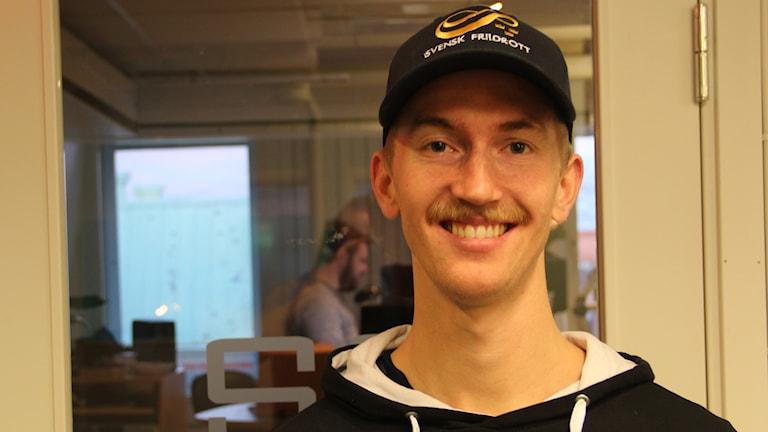Ultralöparen Elov Olsson från Ockelbo.