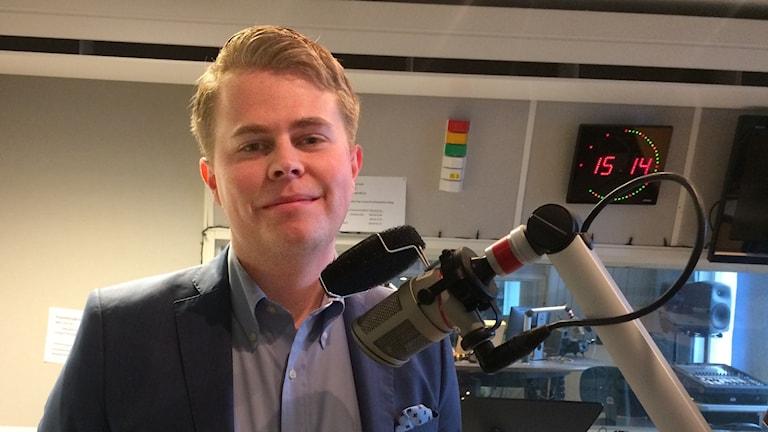 William Elofsson är kommunalråd i opposition i Gävle.