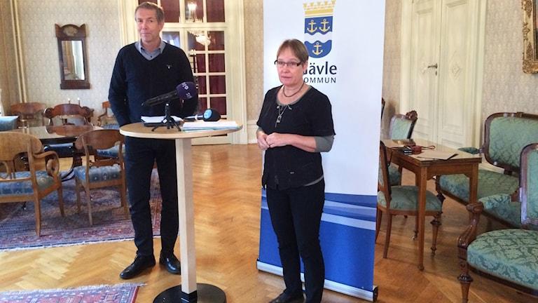 Presskonferens Gävle kommun.