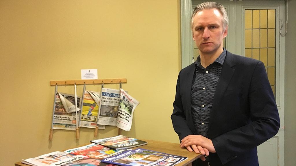 Jörgen Edsvik (S), kommunalråd i Gävle