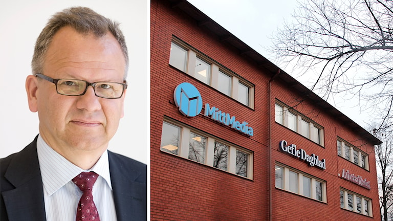 Bengt Ottosson är ordförande för Mittmedia.
