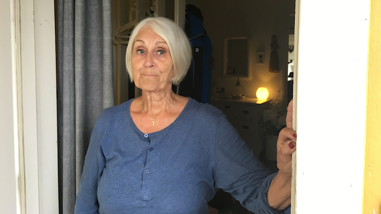 Ulla Söderbergs källare svämmade över