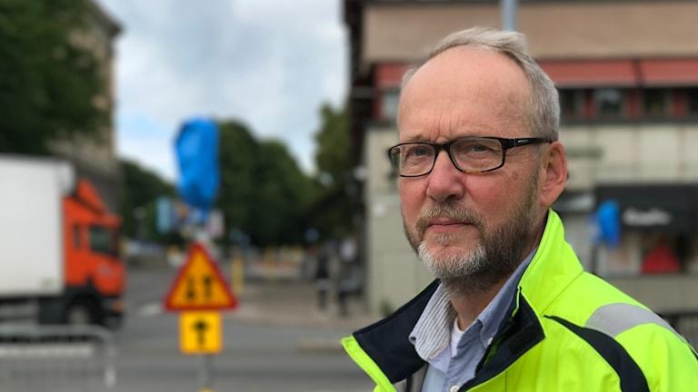Örjan Ohlson, trafikingenjör i Gävle.