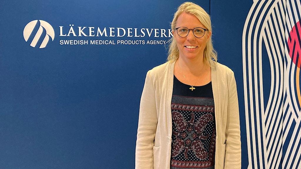 Karin Vengemyr, chef för biverkningsgruppen vid  Läkemedelsverket.