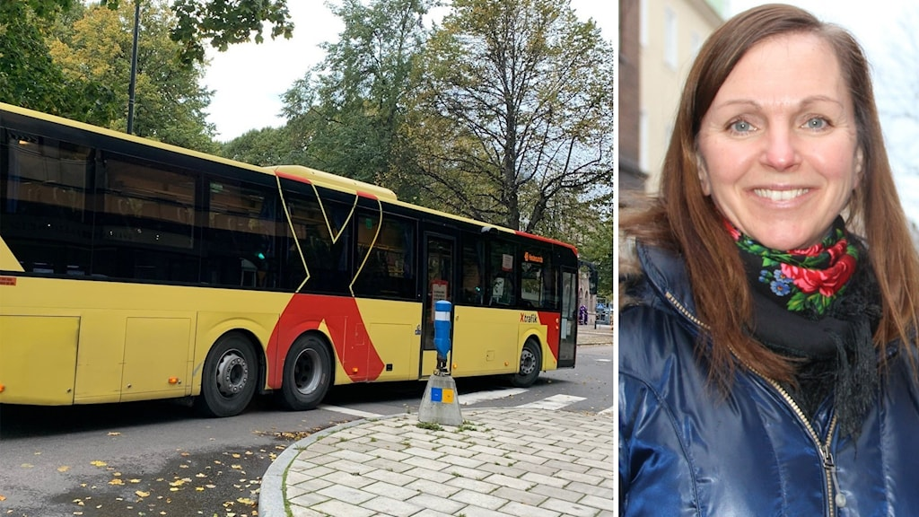 Buss och kvinna