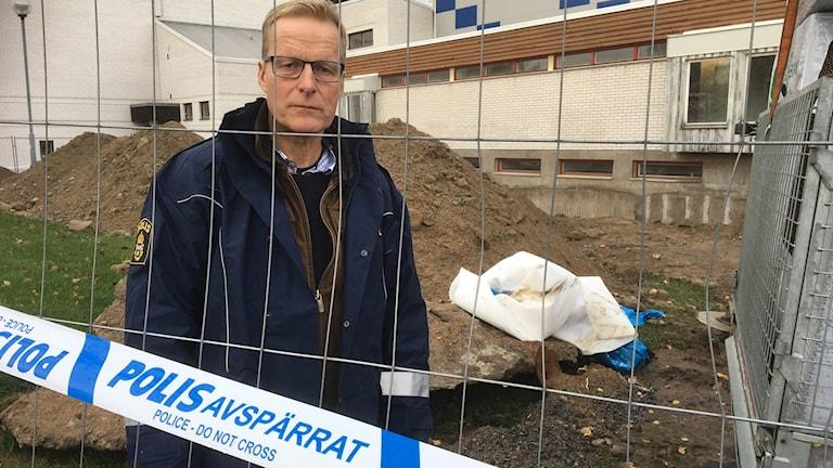 Henrik Forsblad är gruppchef för den enhet inom polisen i region mitt som utreder arbetsmiljöbrott.