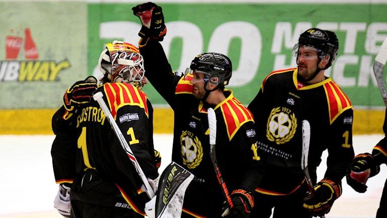 Brynäs hockey tar nyårsledigt som tvåa i SHL efter en imponerande bortaseger mot Luleå.