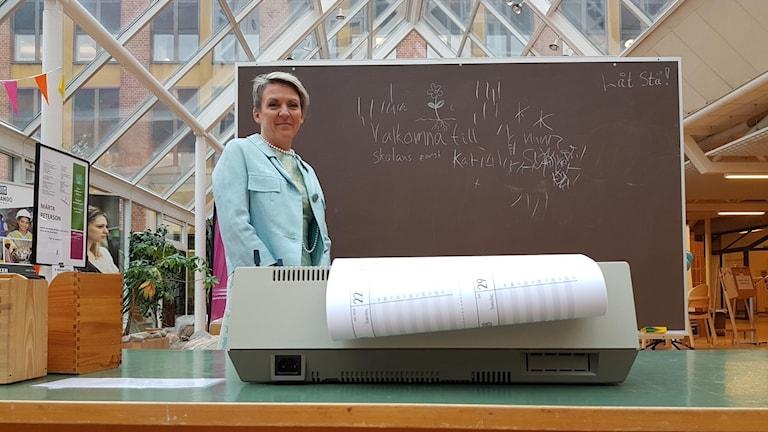 Lisa Kvarnlöf, chef för vuxenutbildningen i Gävle kommun.