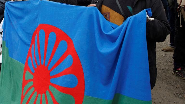 Romska flaggan