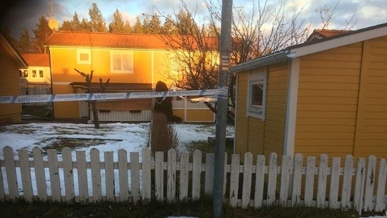 46-åringen bröt sig in i 55-åringens bostad på Brånan i Bollnäs.