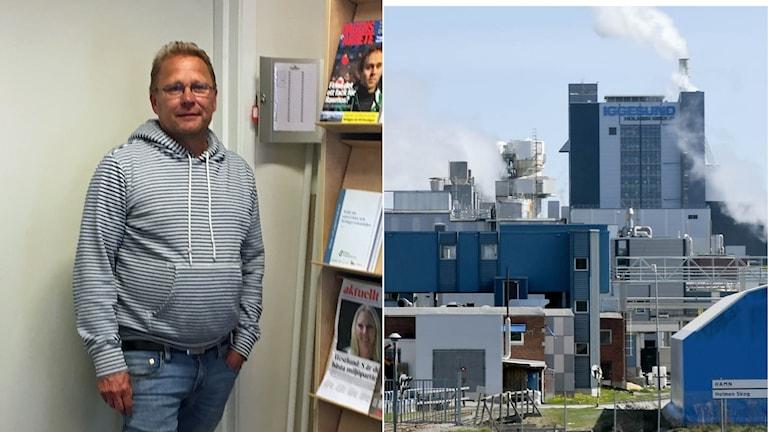 Christer Johansson är ordförande för Pappers Avdelning 15 på Iggesund Paperboard.