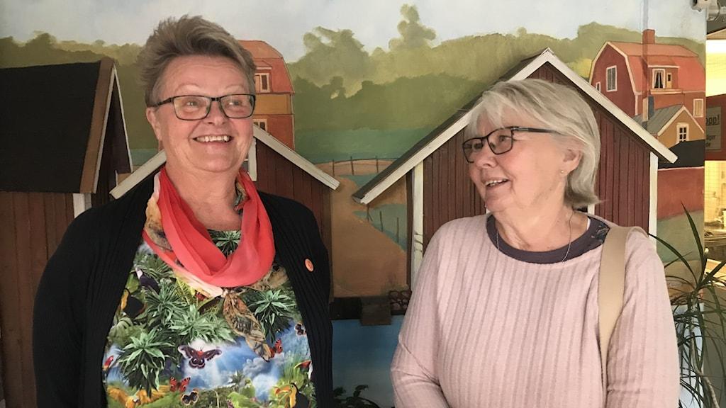 Anna-Stina Hammarberg och Monica Sjökvist