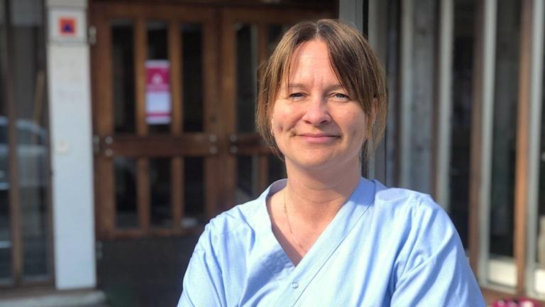 Therese Winblad, undersköterska i Söderhamn.
