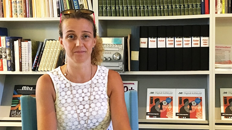 Anna Cederstam Krantz, samtalsterapeut från Sandviken, är en av kvinnorna bakom den framgångsrika podden omänskligt.