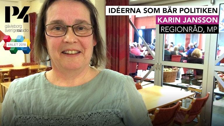 Karin Jansson är regionråd för Miljöpartiet.