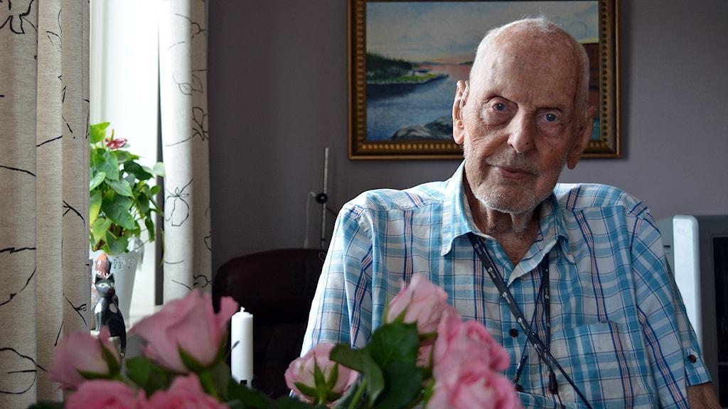 Gösta Johansson pensionerad lokförare i Gävle