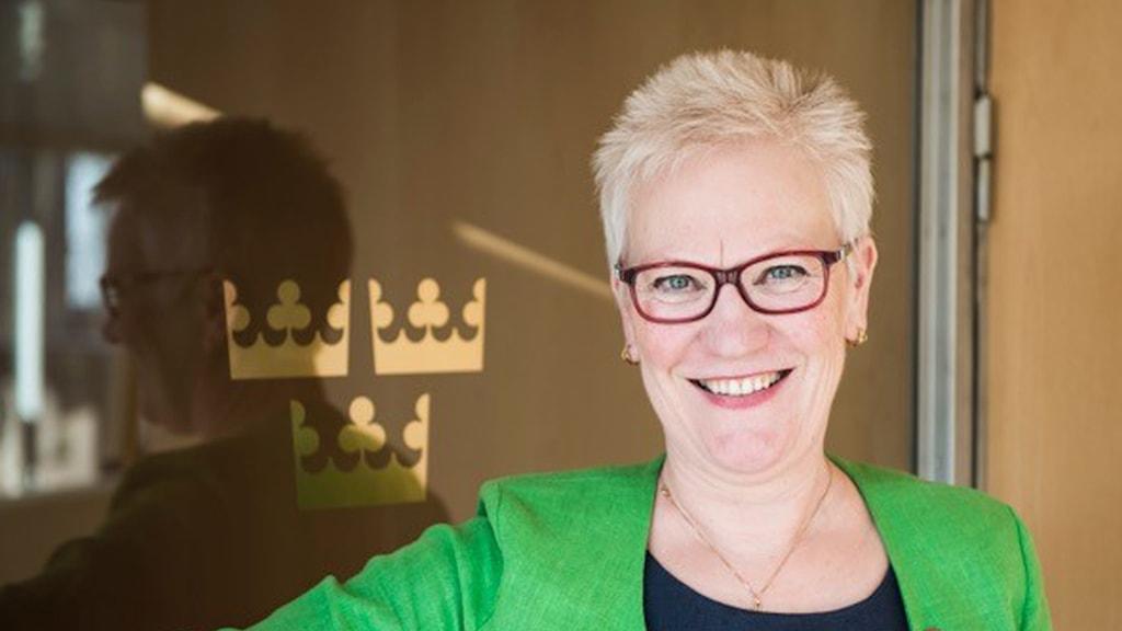 Åsa Lindestam är länsordförande för Socialdemokraterna i Gävleborg.