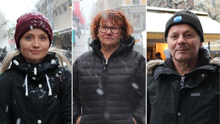 Emma Sand, Eva Thörnblom och Lars Holmberg tycker till om valet i USA.