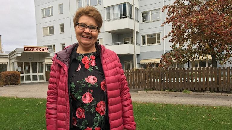 Lena Sund Berglund (S) ordförande Bollnäs Bostäder.