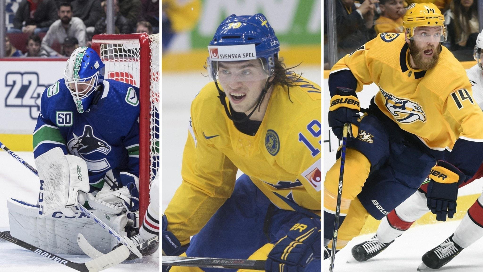 Markströms Vancouver vidare i NHL-slutspelet – Järnkroks Nashville borta