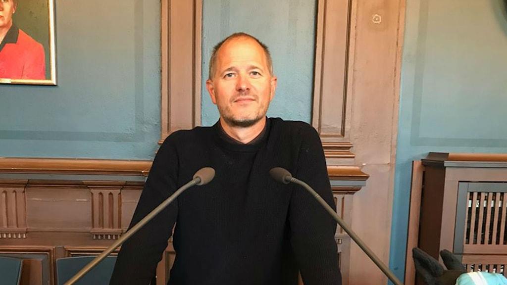 Centerpartiets Magnus Svensson hamnar i en maktposition i Region Gävleborg.